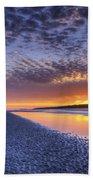 Same Night Five Fifty Nine Pm Beach Towel