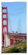 San Francisco Golden Gate Bridge . 7d8157 Beach Towel