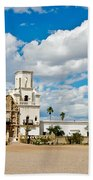 San Xavier Mission Tucson Az  Beach Towel
