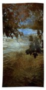 Sanctuary By The River Beach Towel