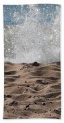 Sand And Surf Beach Towel