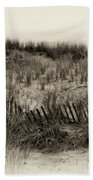 Sand Dune In Sepia Beach Towel