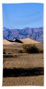 Sand Dunes In Death Valley Beach Towel