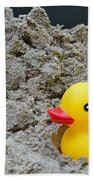 Sand Pile And Ducky Beach Towel