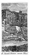 Sandstone Quarry, 1840 Beach Towel