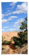 Sandstone Sky Beach Towel