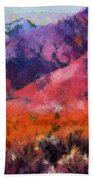 Sangre De Cristos -- Cezanne Beach Towel