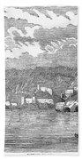 Santiago De Cuba, 1853 Beach Towel