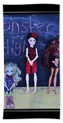 Sarah's Monster High Collection Beach Towel