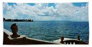 Sarasota Bay In Florida Beach Sheet