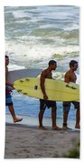 Satelite Beach Beach Towel