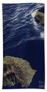 Satellite View Of The Prince Edward Beach Towel