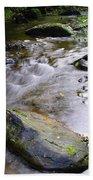 Satus Creek In Autumn Beach Towel