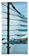 Sausalito Coast Beach Towel
