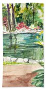 Sayen Pond Beach Towel