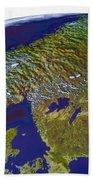 Scandinavia Beach Towel