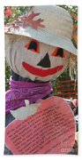 Scarecrow Andy Beach Towel