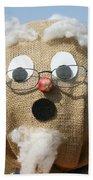 Scarecrow Gramps Beach Towel