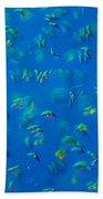 Scenedesmus Sp. Algae, Lm Beach Towel