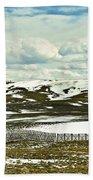 Scenic Wyoming Beach Towel