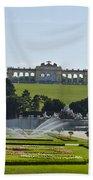 Schonbrunn Palace Gardens  Beach Towel