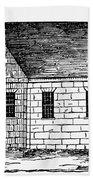 Schoolhouse, 18th Century Beach Towel