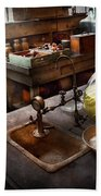 Science - Chemist - Scientific Discoveries  Beach Towel by Mike Savad
