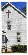 Sciola Baptist Church 1864 Beach Towel