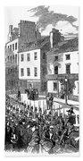 Scotland: Perth, 1848 Beach Towel