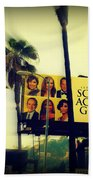 Screen Actors Guild In La Beach Sheet