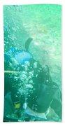 Scuba Diving Beach Towel