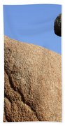 Sculpted Rock Beach Towel