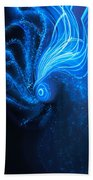 Sea At Night Beach Towel