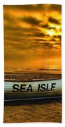Sea Isle Dawn Beach Towel