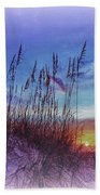Sea Oats 5 Beach Towel