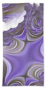 Sea Of Lavender Beach Towel