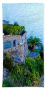 Seaside Villa Amalfi Beach Towel