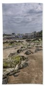 Seaweed Rocks Tenby Beach Towel