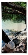Secluded Beach Beach Towel