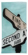 second Avenue 1400 Beach Towel