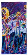 Second Line Beach Towel