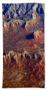 Sedona Arizona Planet Earth Beach Towel
