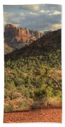 Sedona Red Rock Viewpoint Beach Sheet