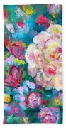 Serendipity Floral Beach Towel