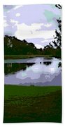 Serenity Lake 4 Beach Towel