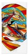 Seven Fish Beach Towel