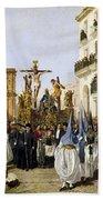 Seville: Good Friday, 1862 Beach Towel