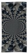 Shades Of Grey Beach Towel