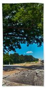 Shady Hilltop Beach Towel