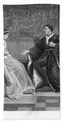 Shakespeare: King Henry V Beach Towel